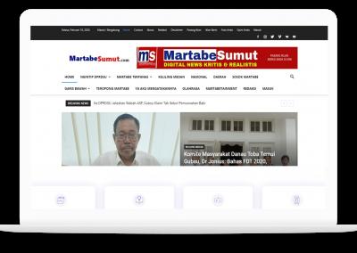 Website Martabe Sumut