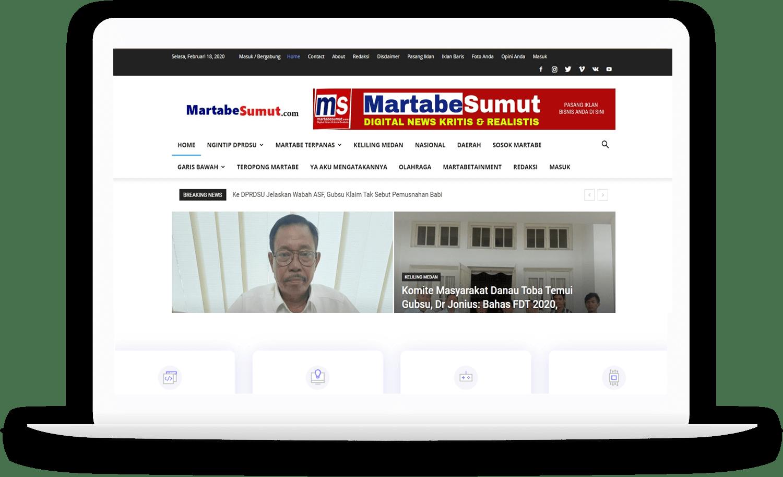 jasa pembuatan website berita