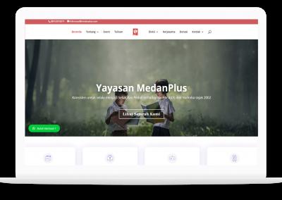 Website Medan Plus