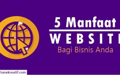 5 Alasan Kenapa Bisnis Anda Memerlukan Website
