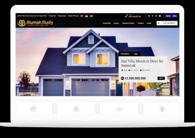 Project Website Rumah Rudy