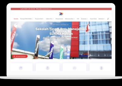Project Website STIM SUKMA Medan